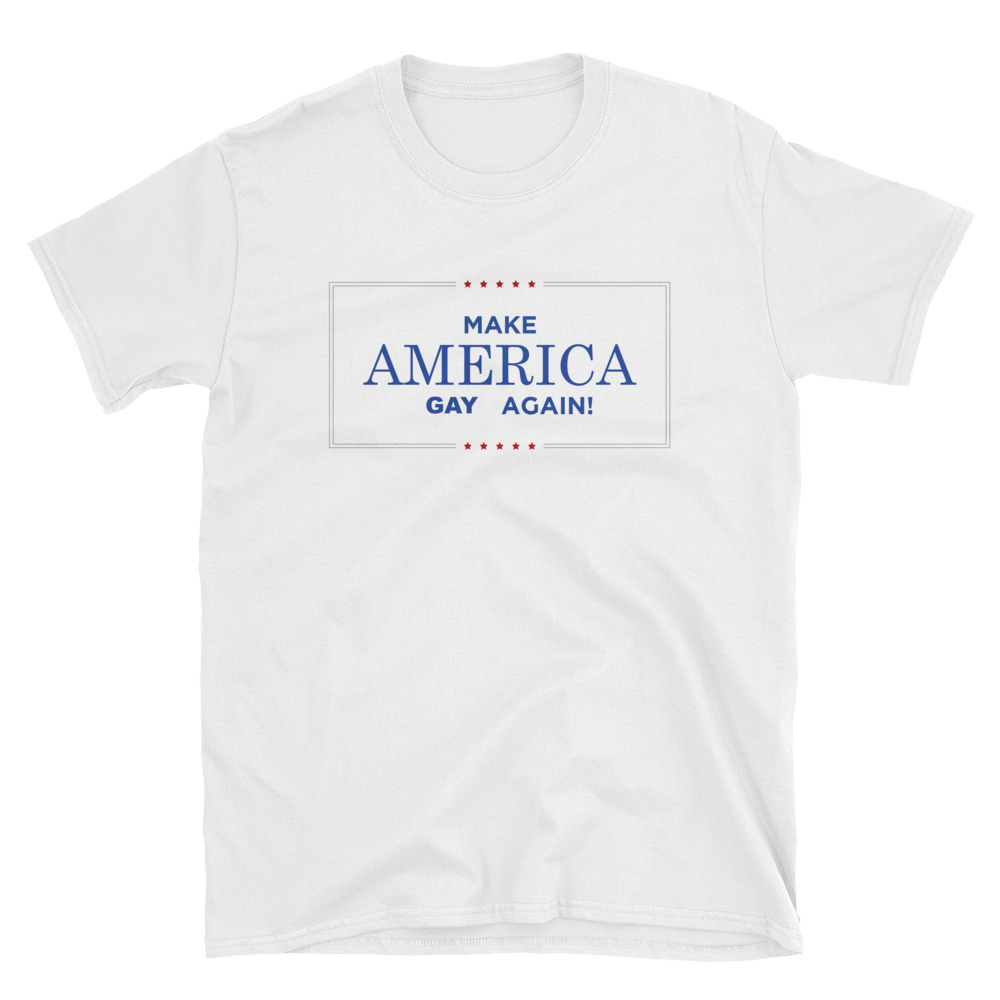 Make America Great Again Short-Sleeve Unisex T-Shirt