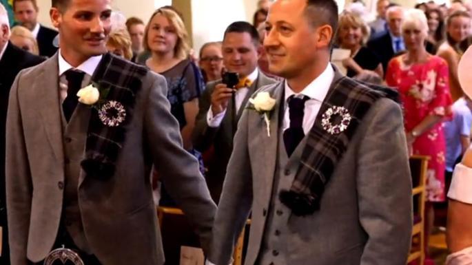 songs of praise same sex wedding