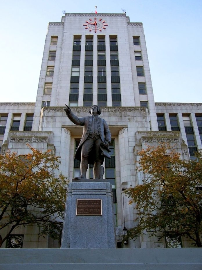 Vancouver City Hall (Supplied)