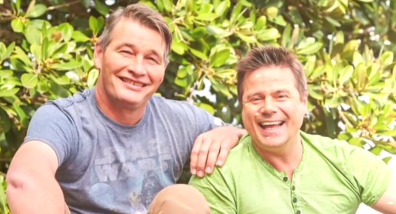 Lukas and Ross Newton home and away