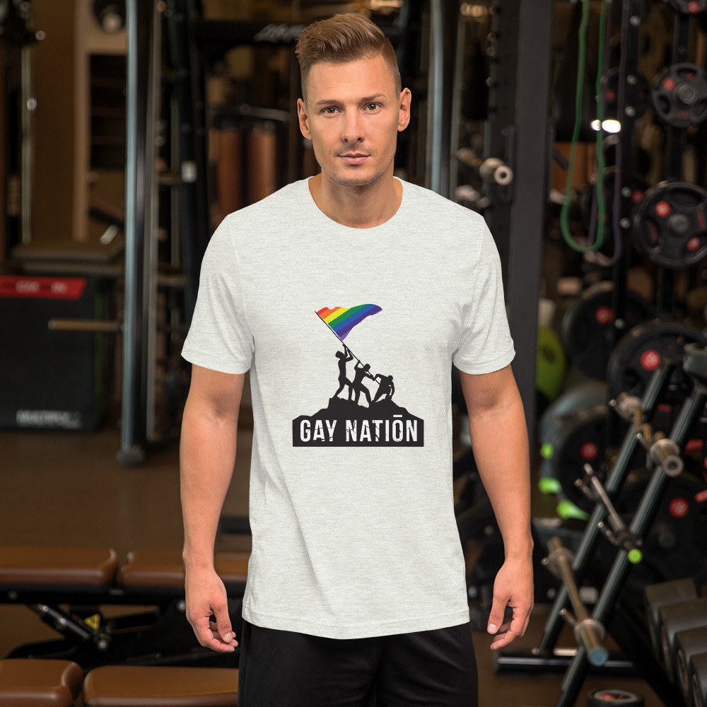 Gay Nation Iconic Unisex T-Shirt