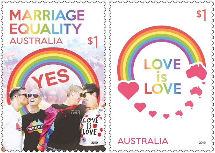 Marriage Equality Stamps
