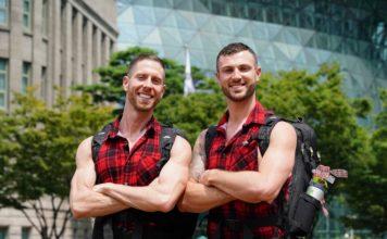 Tim and Rod on The Amazing Race Australia helping the bushfire efforts