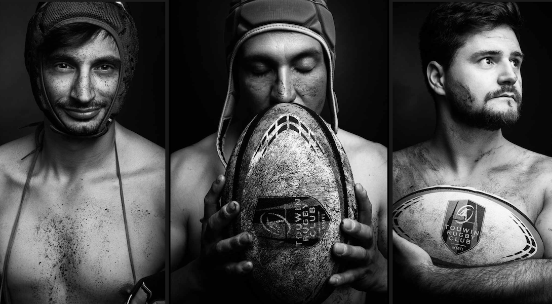 Tou'win French Rugby Club naked calendar