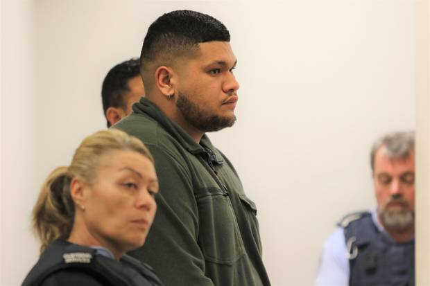 Joden Martin at an earlier appearance in the Auckland District Court. Photo / Sam Hurley He was sentenced to 11 months home detention.