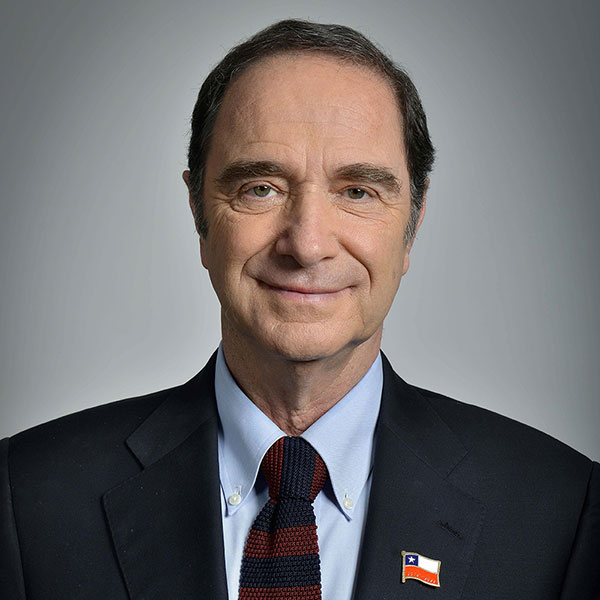 Chile Justice and Human Rights Minister Hernán Larraín