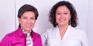 Bogota Mayor Claudia Lopez and her new wife Angelica Lopez