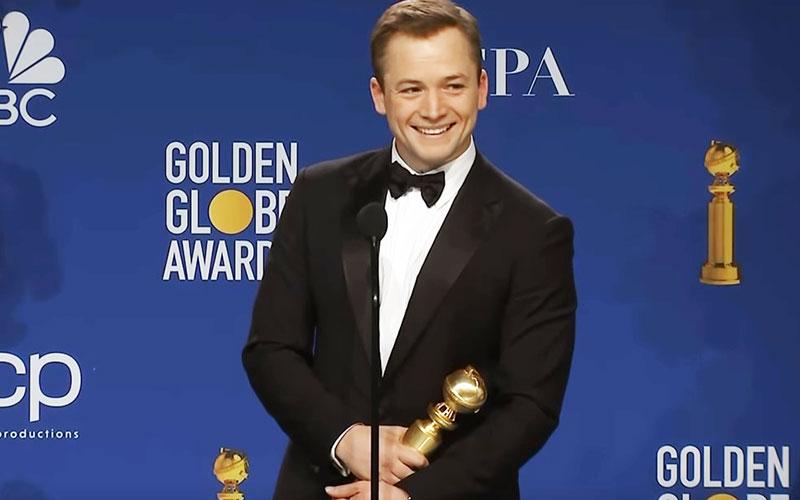 Golden Globe Winner Taron Egerton (Youtube)