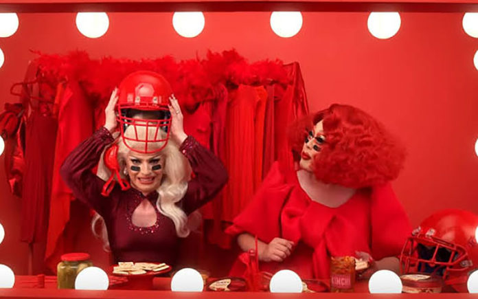 Sabra Hummus will feature drag queens, Kim Chi and Miz Cracker, in its Super Bowl ad.