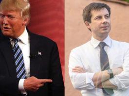 President Trump and Buttigieg