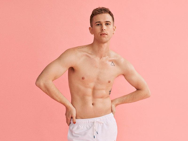 Tommy Dorfman Calvin Klein #PROUDINMYCALVINS