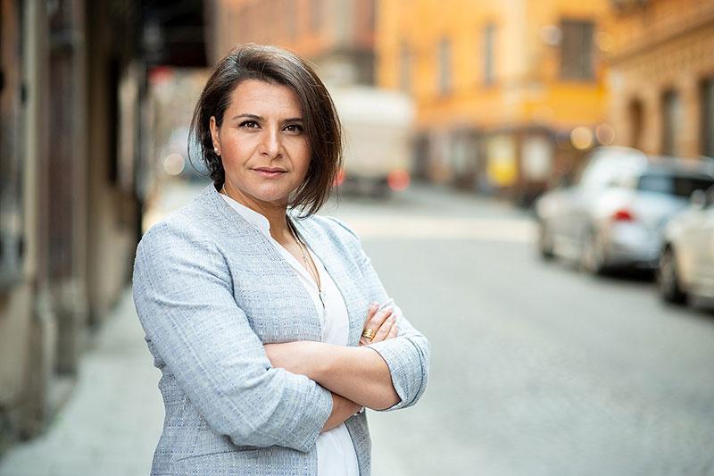 EU politician Abir Al-Sahlani