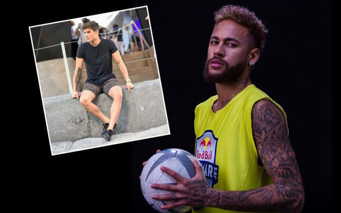 Neymar and Tiago Ramos