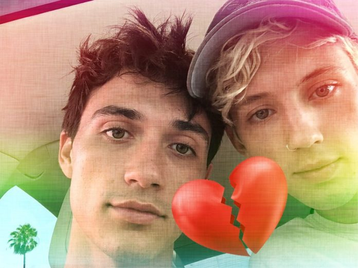 Jacob Bixenman and Troye Sivan have split