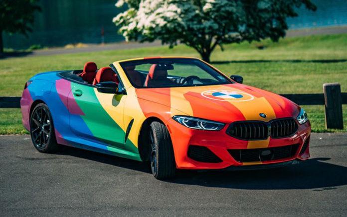 rainbow bmw