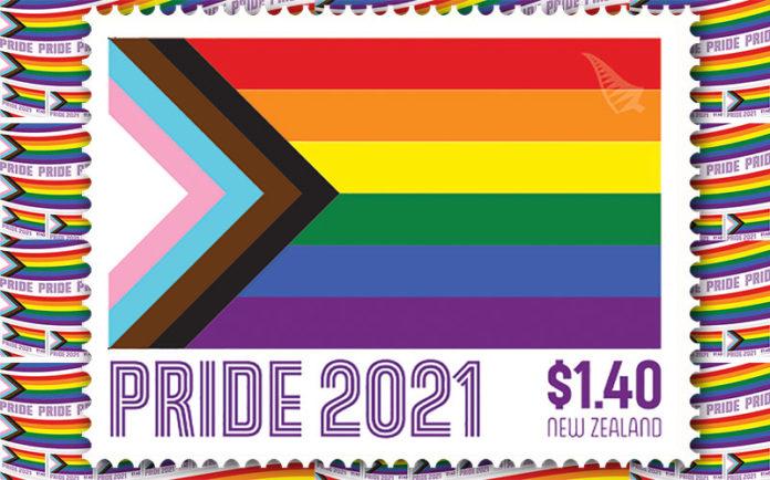 NZ Post Pride Stamp