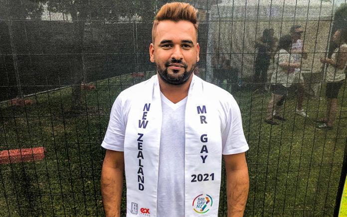 Bharat Mahajan - Mr Gay New Zealand 2021
