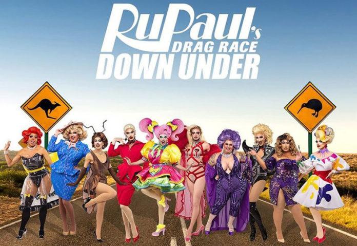 RuPaul's Drag Race Down Under Official Cast