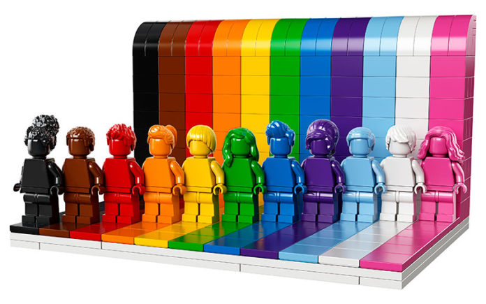 Everyone is Awesome Lego Pride Set (Lego)