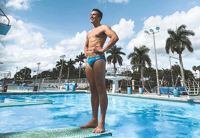 Olympic diver Anton Down-Jenkins (Instagram)