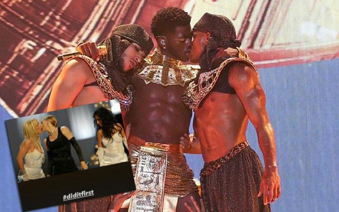 Madonna did it first