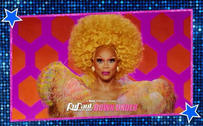 RuPaul announcing RuPaul's Drag Race Down Under season 2 (Stan)